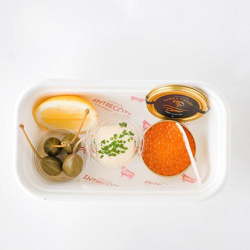 Yarra Valley Salmon Caviar & Blini box