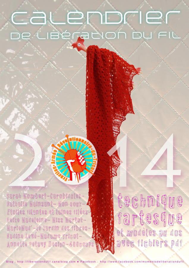 calendrier F.A.R.T 2014