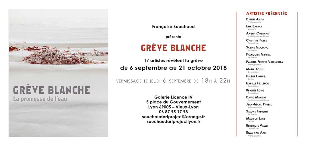 Invitation Grève Blanche