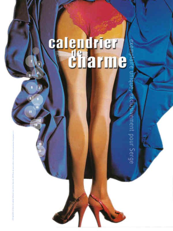 calendrier charme 2005