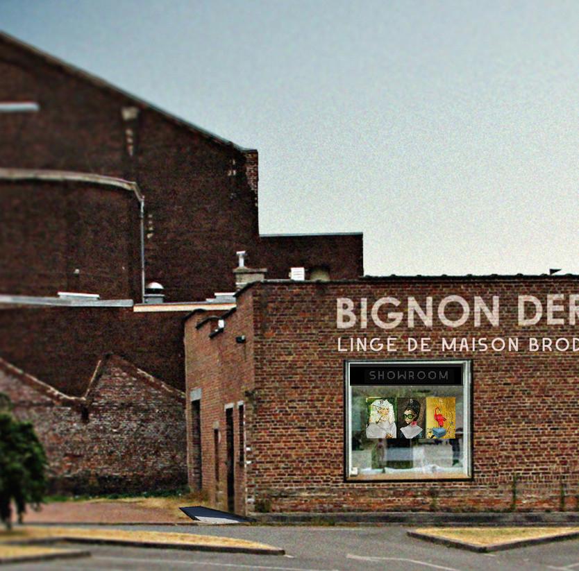 Facade Bignon Dervaux Roubaix
