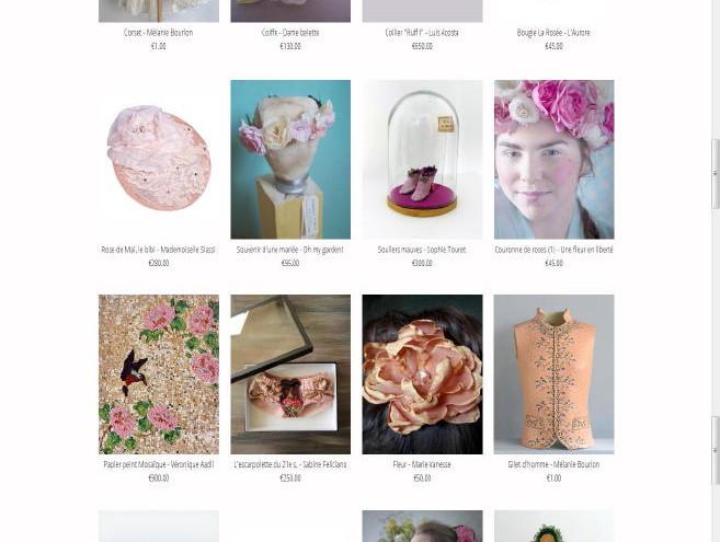 Page Galerie de la Marraine