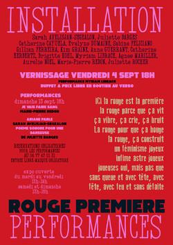 Exposition au théâtre du Verso