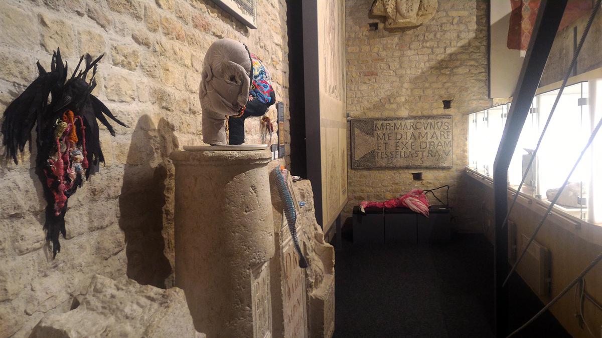les écorchés au musée archéologique