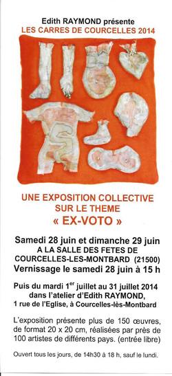 expo carrés de  Courcelle