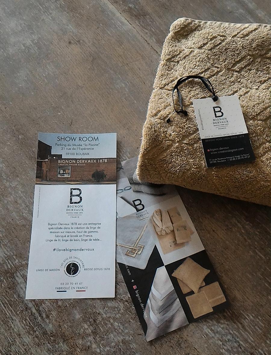 Flyer boutique Bignon Dervaux
