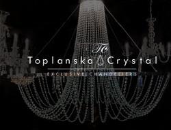lustre Toplanska Crystal France