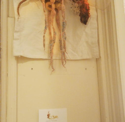 Anophèle broderie laine crochet