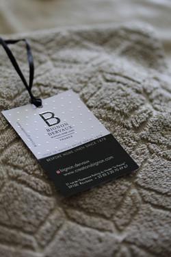 Etiquette produit boutique Bignon De