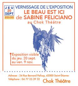 vernissage expo chok theatre sab Felicia