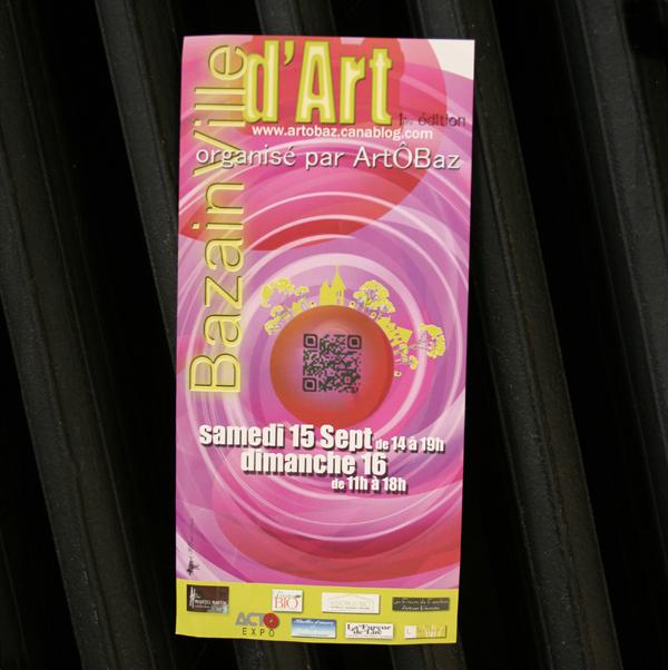 Flyer pour ArtÔBaz