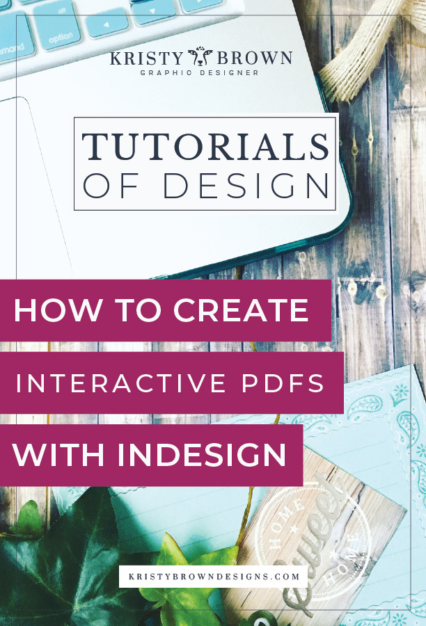 How to create interactive Pdfs with indesign