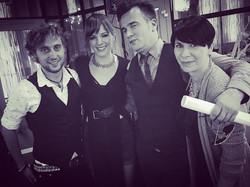 Jure, Nina, Tadej in Anja