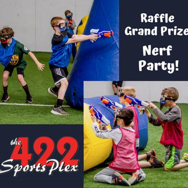 422 Sportsplex Raffle Prize