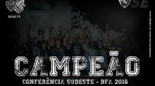 É CAMPEÃO! Galo FA vence título da Conferência Sudeste e fica mais próximo do Brasil Bowl