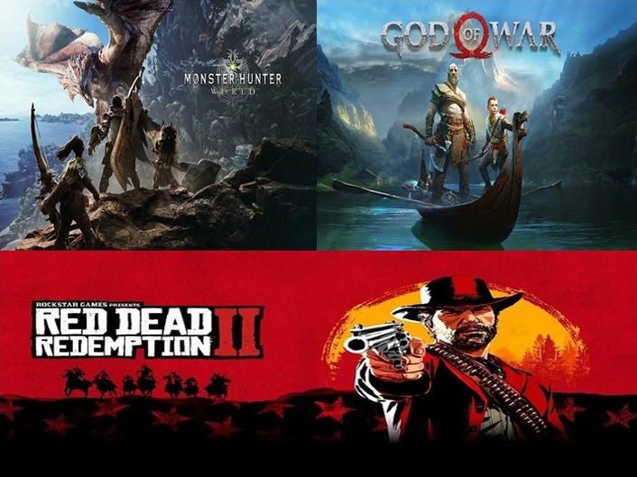 Até agora os 3 melhores Games do ano 2018!!!