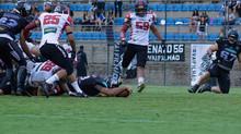 Galo FA vence Timbó Rex e se garante no Brasil Bowl IX. Galinho FA joga pela Copa Ouro contra o Amér
