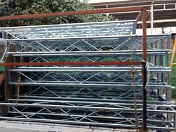 estructura galvanizada