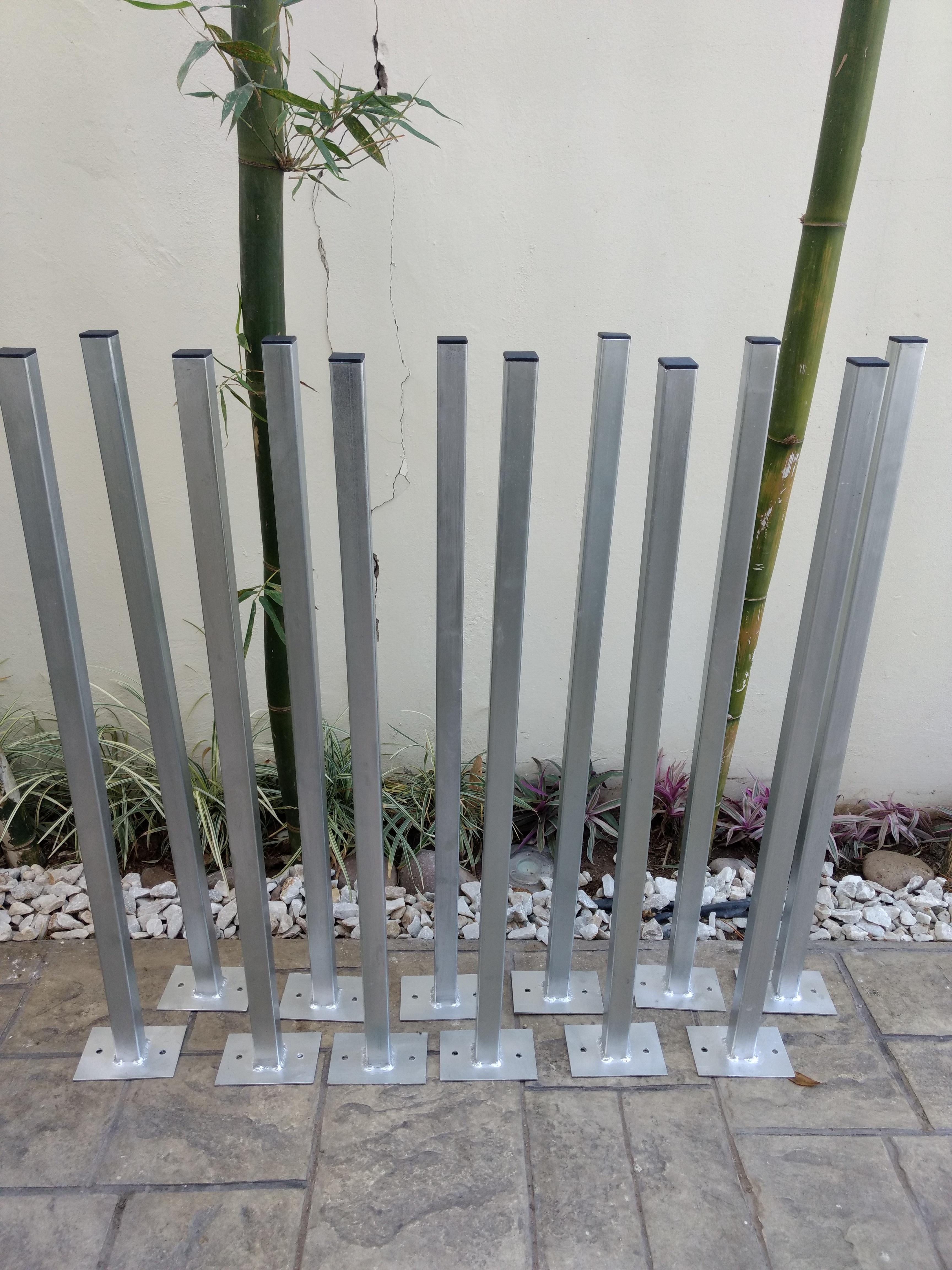 poste galvanizado