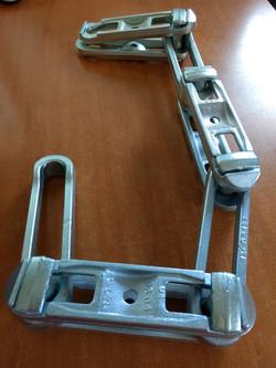 cadena galvanizada
