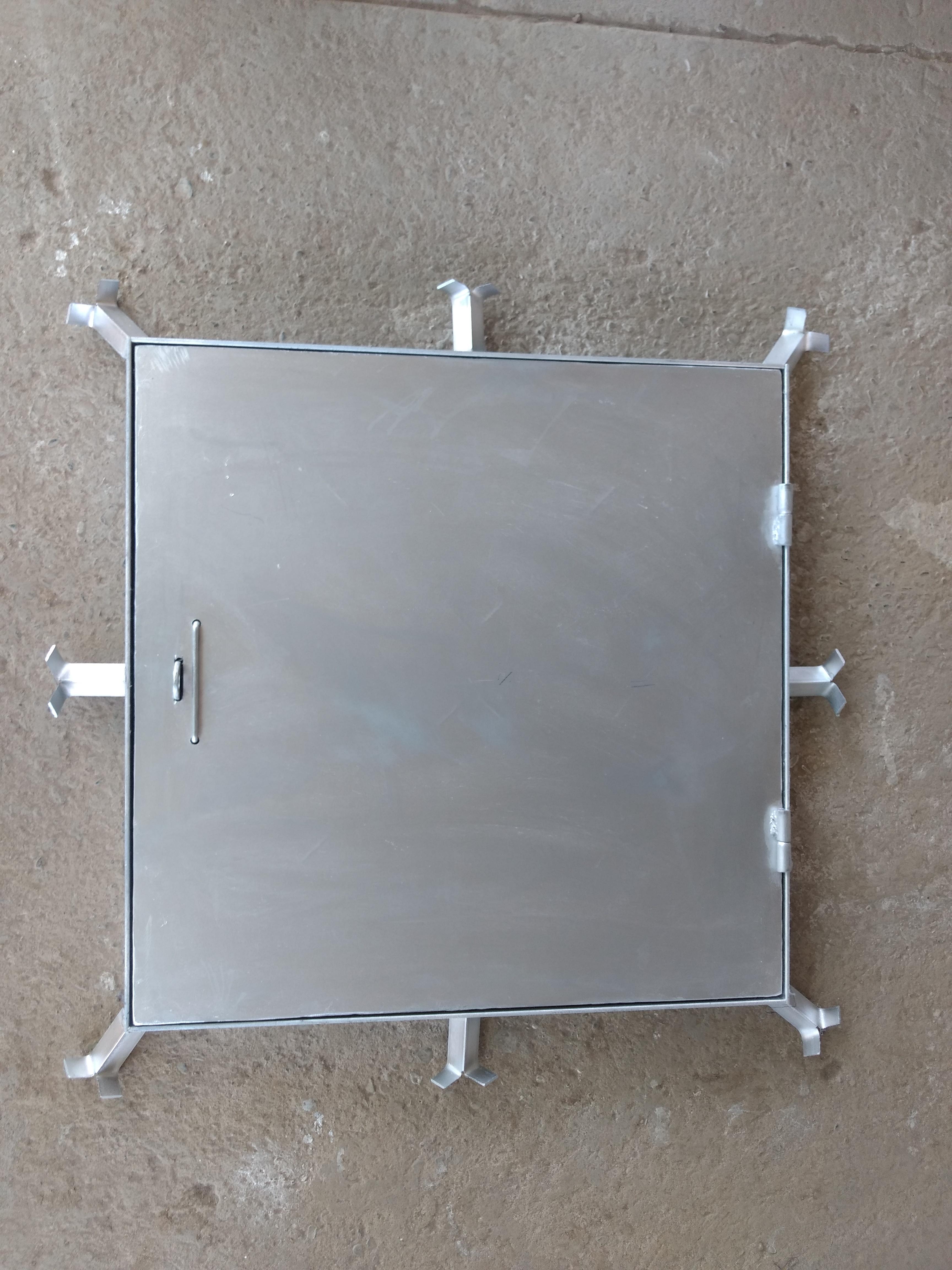 Tapa Cisterna galvanizada
