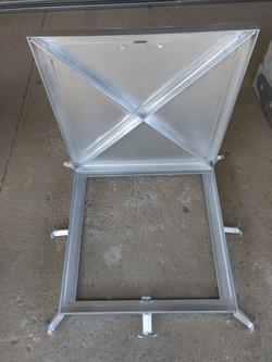 Cisterna galvanizada