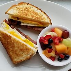Grilled Breakfast Sandwich