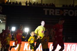Billeder fra mandagskampen mod HC Midtjylland