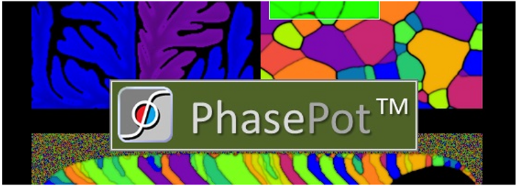 PhasePot Microstructure Simulation