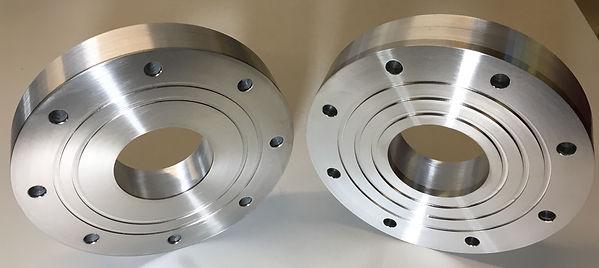Steel Titanium Aluminium Flanges