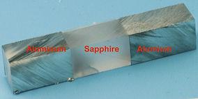 Diffusion Bonding Sapphire to Aluminum
