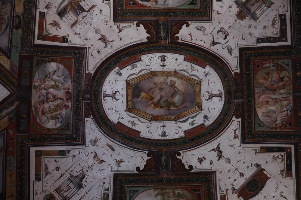 Sala degli Dei (soffitto)