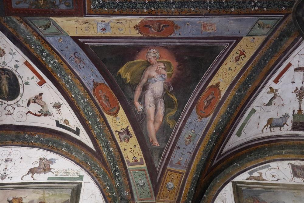 Sala degli Dei (dettaglio)