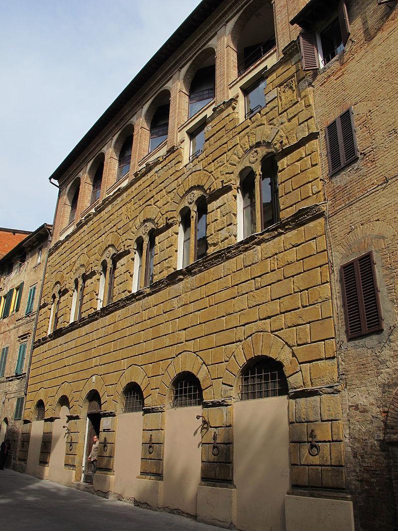 Palazzo di San Galgano, via Roma 57, Siena