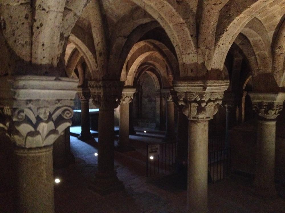 cripta romanica