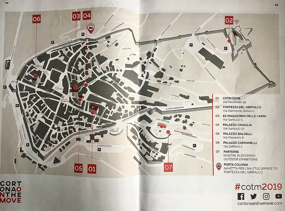 Mappa cortona on the move 2019