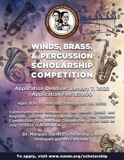 2022 NANM Scholarship Competition