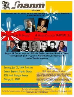 2009 Benefit Concert