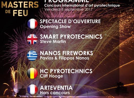 Le programme du concours