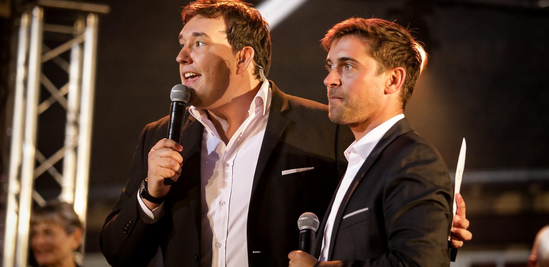 Maxime Schneider et Edouard Grégoire