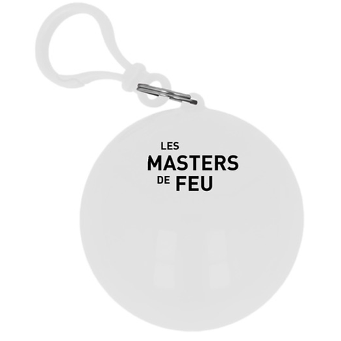 Poncho boule Masters de Feu