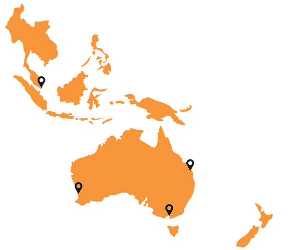 Tiger Fluids Asia Pacific Locations