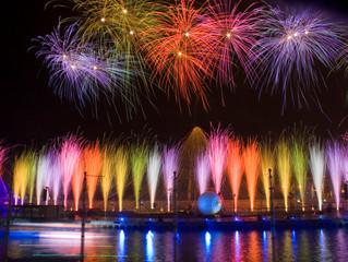 Les concours internationaux de feu d'artifice