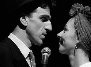 Corinne et Gilles alias Shirley et Dino.