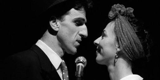 Corinne et Gilles Bénizio (Shirley et Dino), présidents du Jury des Masters de Feu 2019