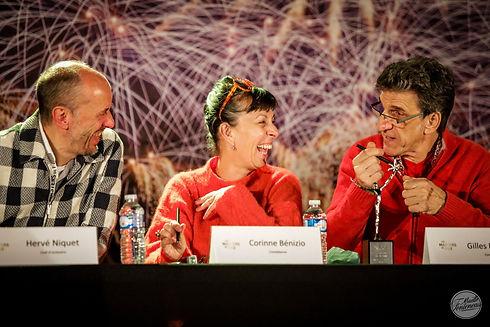 Hervé Niquet et Corinne et Gilles Benizio - CP Maëlle Fonteneau.jpg