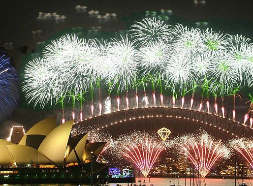Les plus beaux feux d'artifice du nouvel an à travers le monde