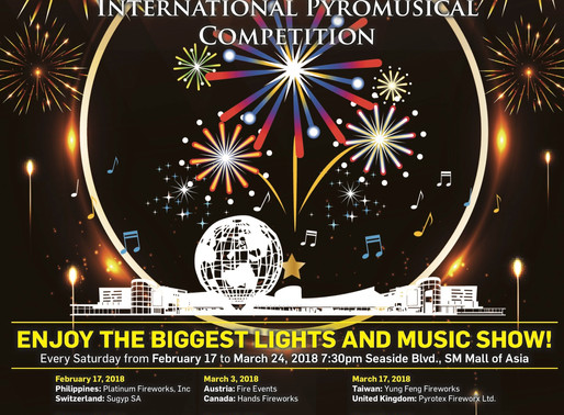 Le Festival Pyromusical des Philippines