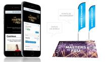 Nouveau, le Cashless aux Masters de Feu