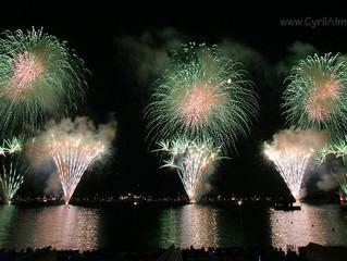 Le programme du Festival international d'art pyrotechnique de Cannes